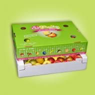 Box de pommes